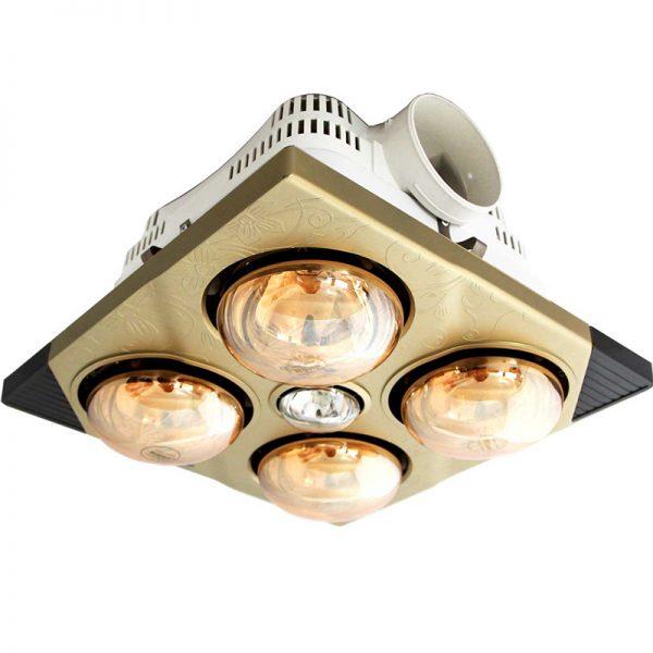 Đèn sưởi nhà tắm 4 bóng âm trần Kottmann K4BT